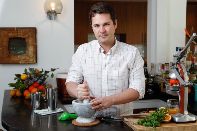 Lucien Conner, the general manager of Puesto restaurant. (Eduardo Contreras / Union-Tribune)