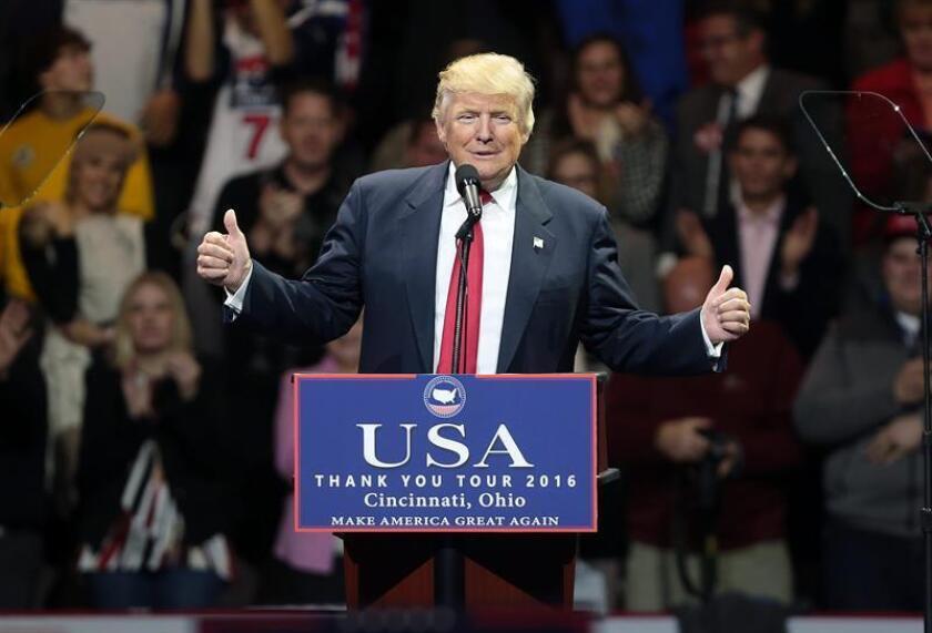 El presidente electo estadounidense, Donald Trump. EFE/Archivo