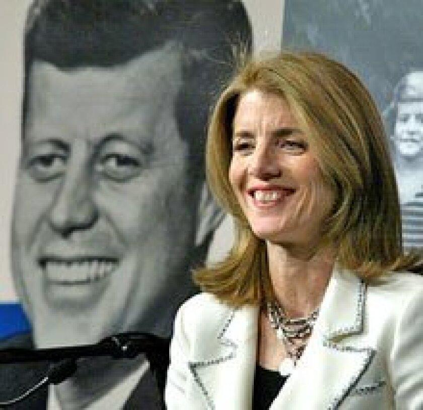 Caroline Kennedy Sets Sights On Senate The San Diego Union Tribune