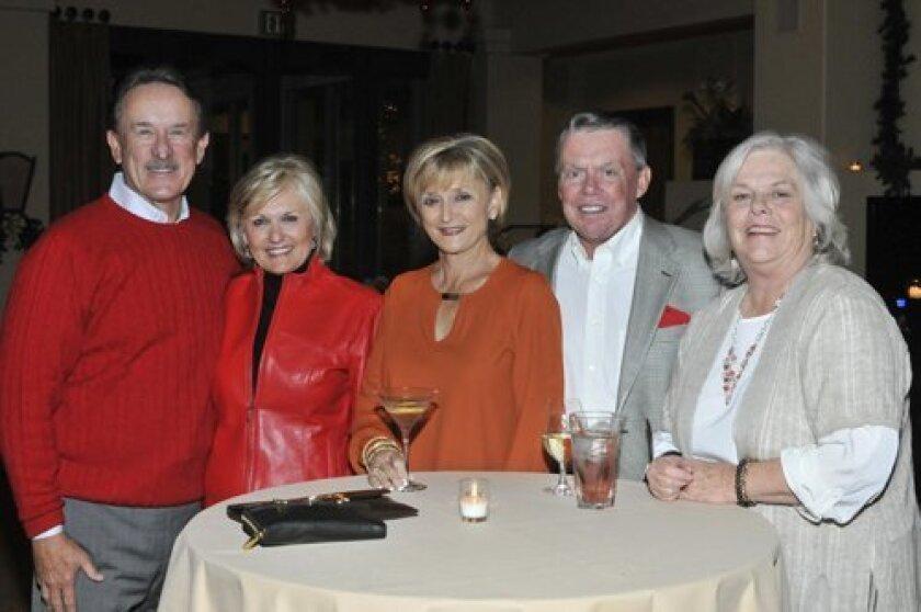 Rich and Jean Logan, Barbara and Sid McClue, Deborrah Henry