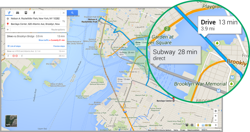 Google said it plans to roll out the new version of Google Maps to all users over the next few weeks.