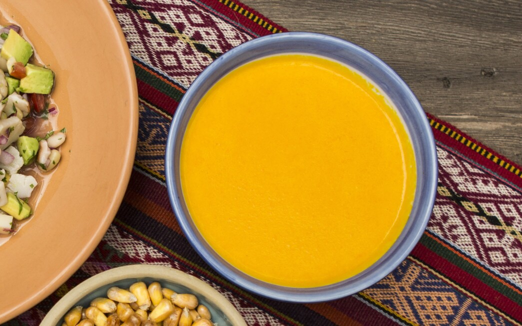 Simple aji amarillo table salsa