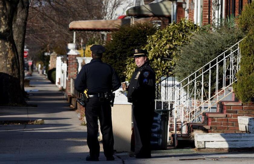 Agentes de policía en la ciudad de Nueva York(EEUU) EFE/ Archivo