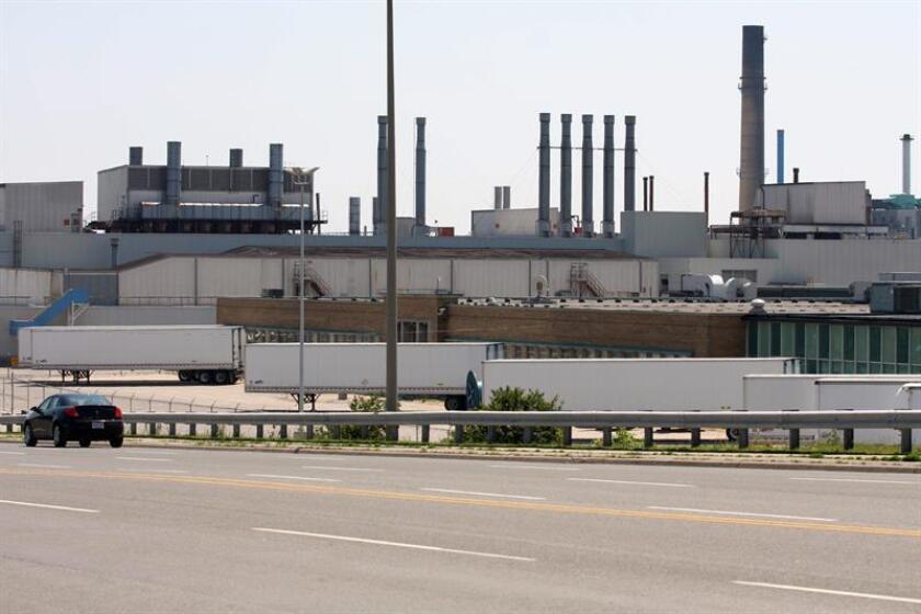 Vista parcial de la planta de la General Motors de Canadá en Oshawa. EFE/Archivo