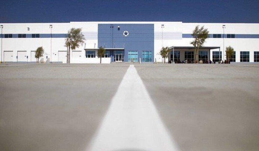 Amazon fulfillment center in San Bernardino