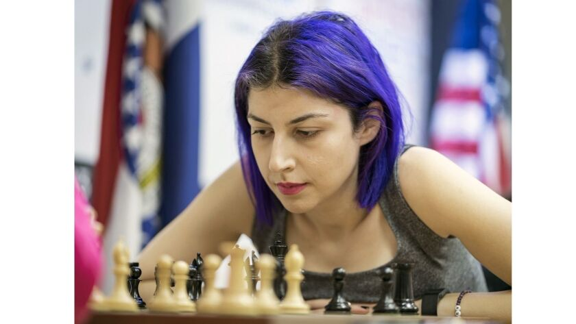 Tatev Abrahamyan from Glendale will compete in the nation's top chess tournament next month.