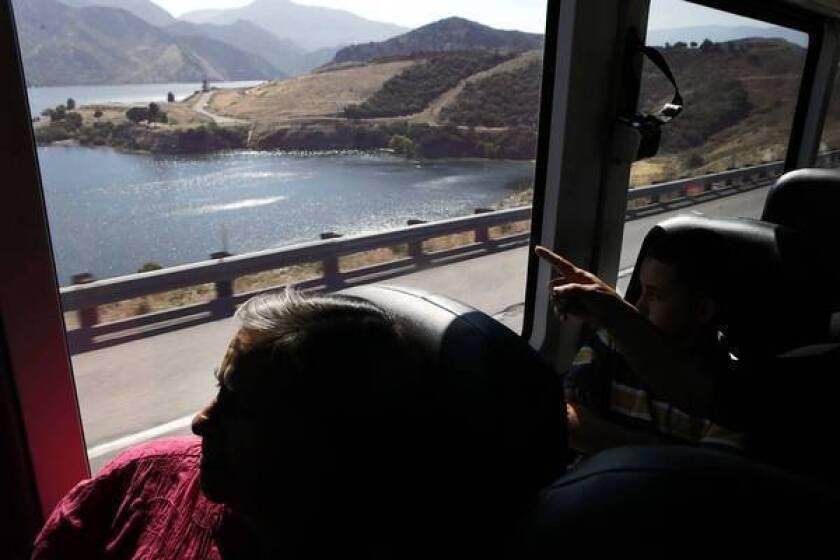 Greyhound bus ride