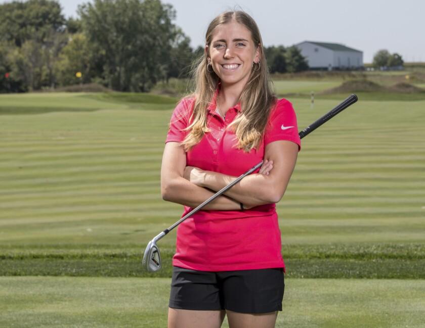 Iowa State University golfer Celia Barquin Arozamena was found dead on a golf course on Monday.