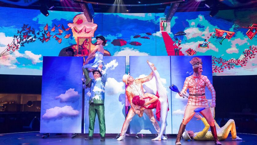 Meraviglia will feature original Cirque du Soleil shows at sea.
