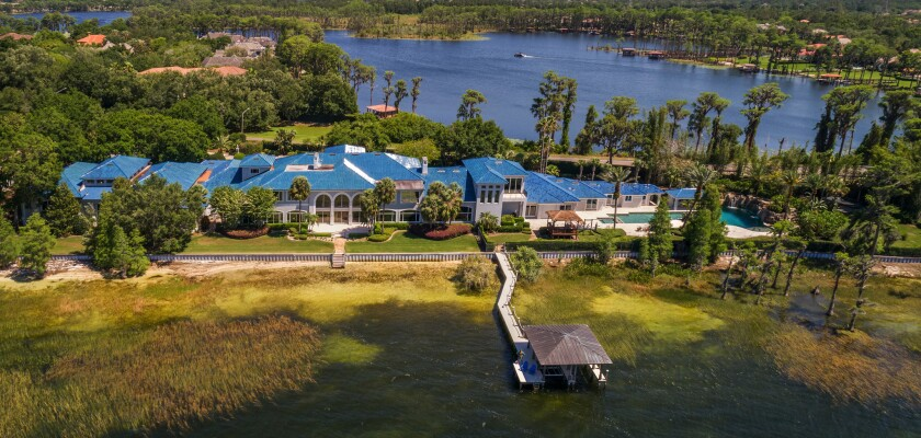 Shaquille O'Neal's Florida compound | Hot Property