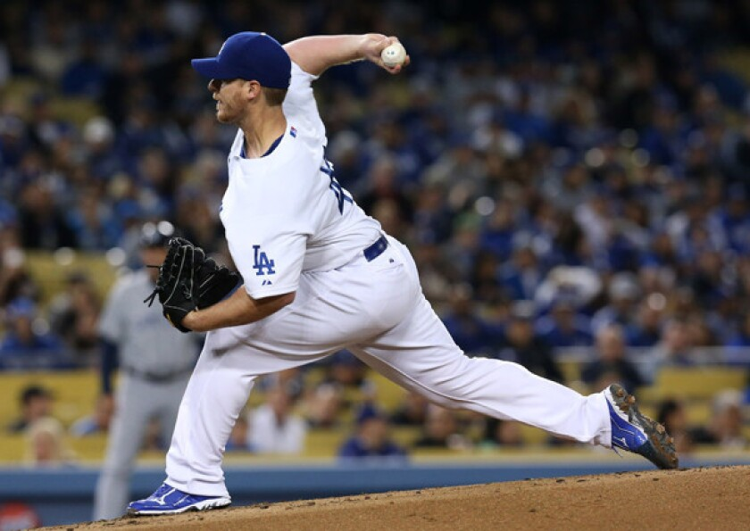 Dodgers' Chad Billingsley placed on disabled list with elbow pain