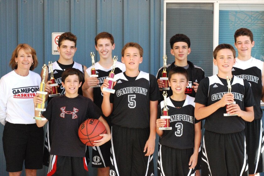 The Gamepoint Wildcats eighth-grade team won the championship of the recent freshman/sophomore division of The Battle of the Leagues.