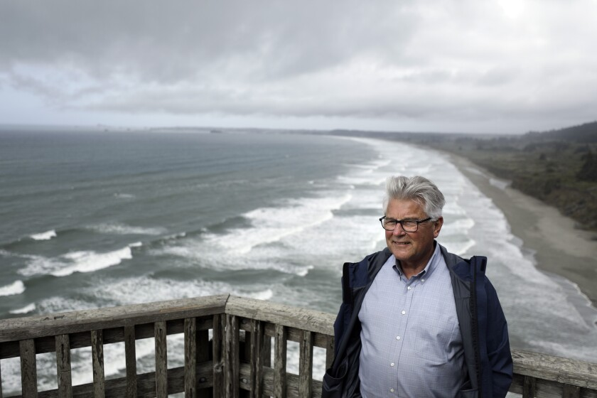 Charlie Helms is the harbor master at Crescent City Harbor District