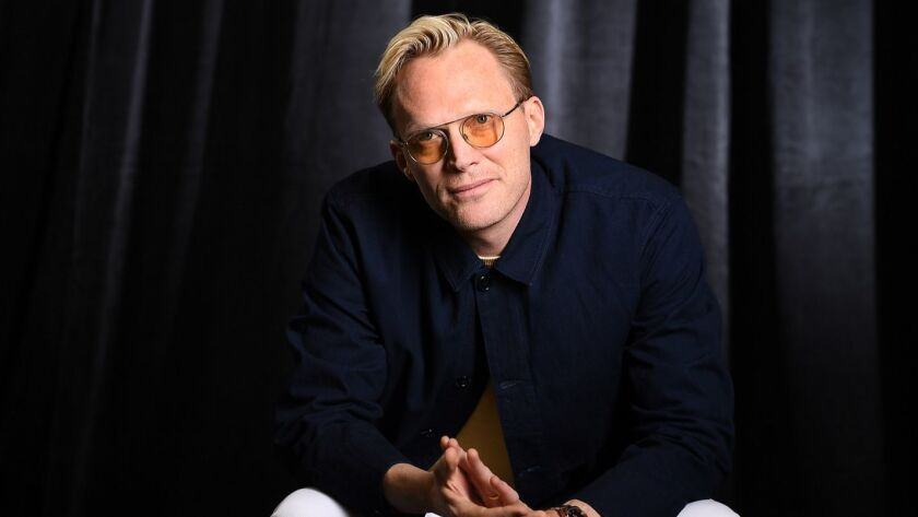 "Actor Paul Bettany photographed for ""Solo: A Star Wars Story"" in Beverly Hills on May 12, 2018."