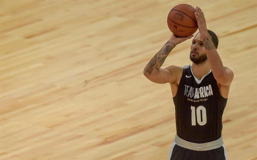 Evan Fournier, alero francés de los Magic de Orlando. EFE/Archivo