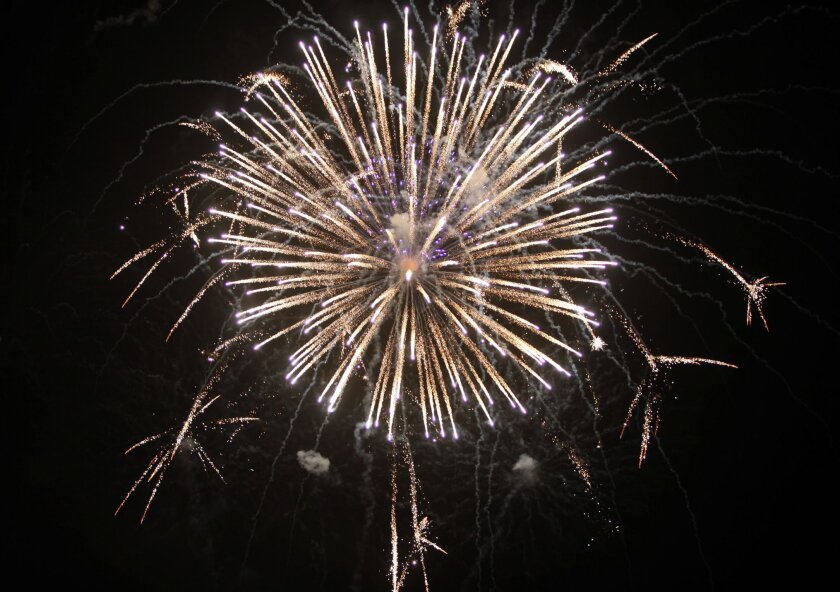 Regional pollution regulators have drawn up rules for fireworks shot over waterways in an attempt to satisfy the Clean Water Act.