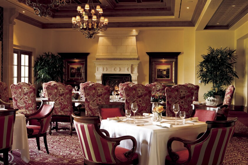 The dining room at Addison Del Mar. (Courtesy photo)