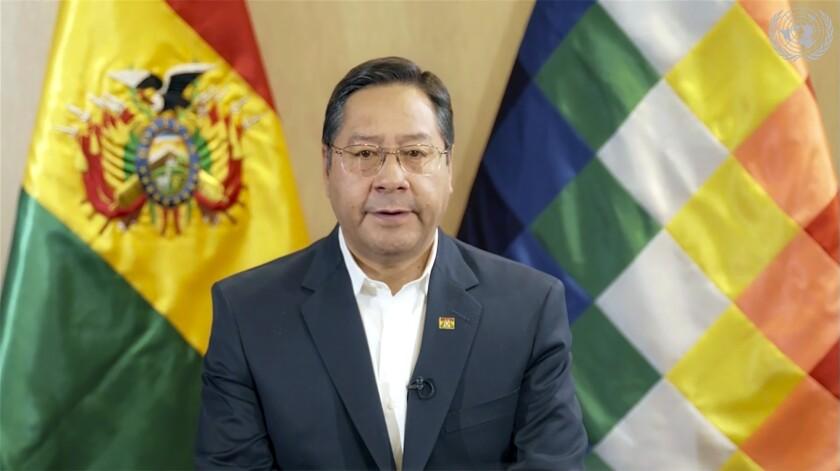 Presidente de Bolivia supera chequeo médico por cáncer - San Diego  Union-Tribune en Español