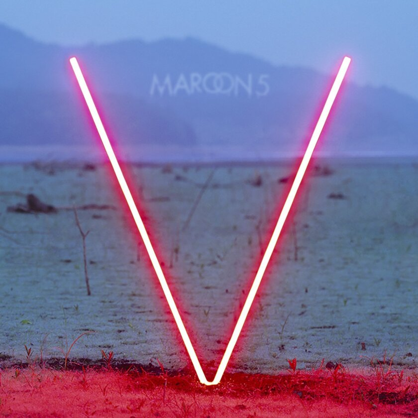"""This CD cover image released by Interscope shows """"V"""" by Maroon 5. (AP Photo/Interscope)"""