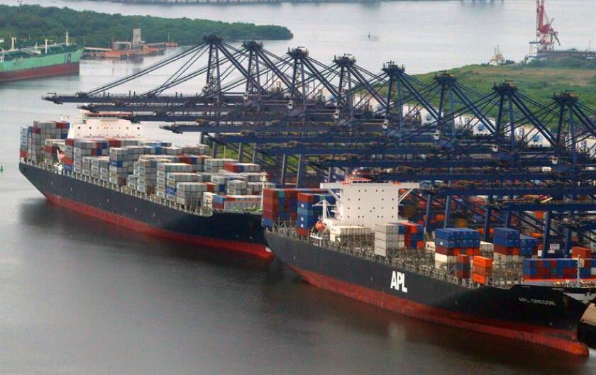 México registró un déficit en la balanza comercial de 194 millones de dólares en septiembre, frente al de 1.934 millones de dólares del mismo mes de 2017, informó hoy el Instituto Nacional de Estadística y Geografía (Inegi). EFE/Archivo