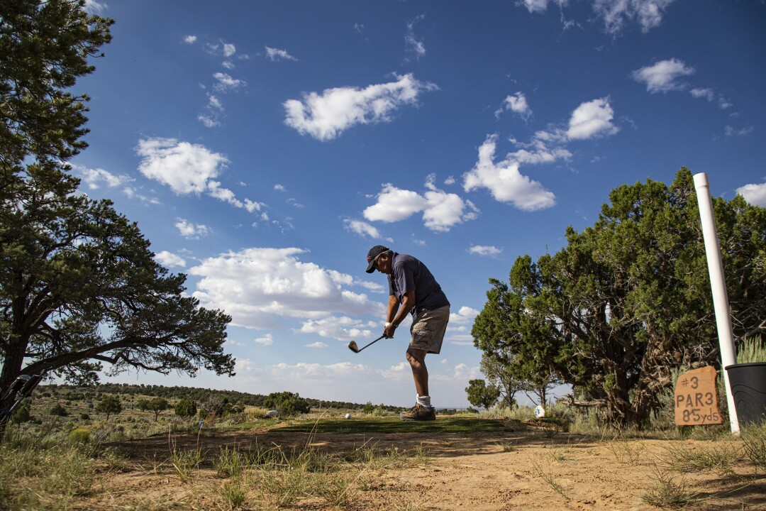 Rez Golf Course  on the Navajo Reservation