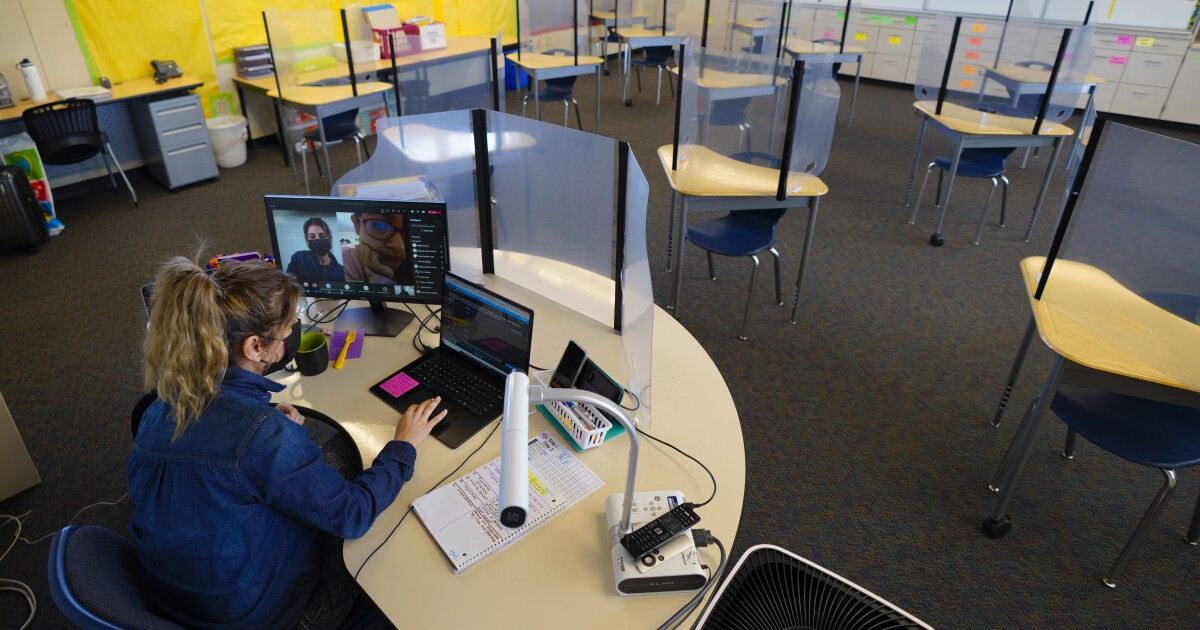 Should San Diego area schools use desk barriers to prevent COVID spread?