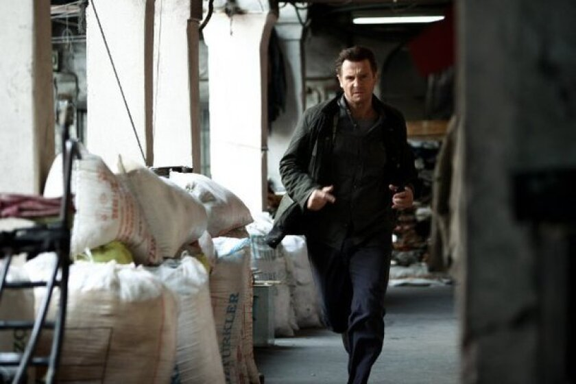 """""""Taken 2"""" dominated weekend ticket sales at the box office."""
