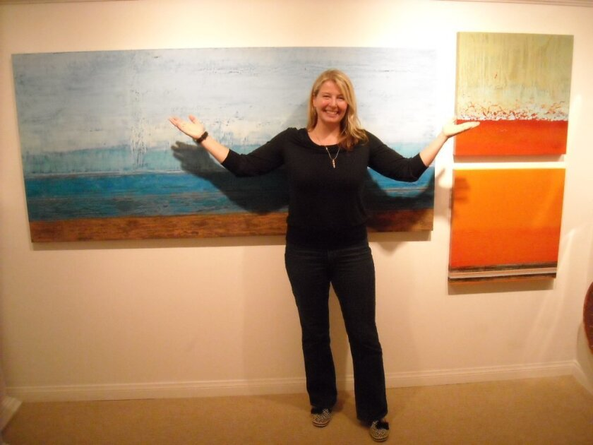 La Jolla Wine, Walk and Taste guests can meet Stephanie Paige at Contemporary Arts Gallery.