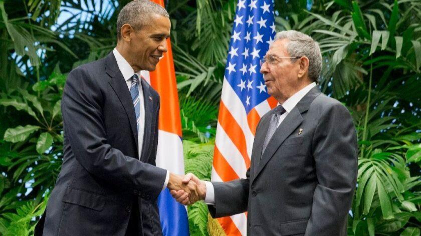 Trump considers reversing historic Obama-era opening with Cuba
