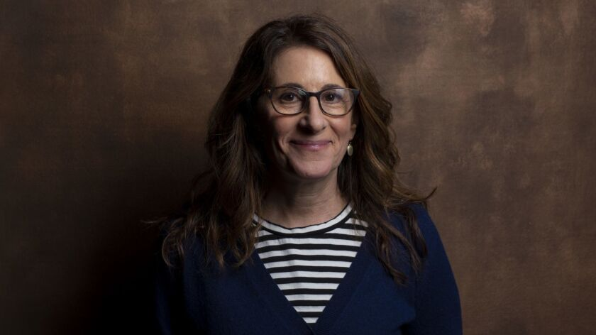 "TORONTO, ONT., CA -- SEPTEMBER 09, 2018-- Writer/Director Nicole Holofcener, from the film ""The Land"