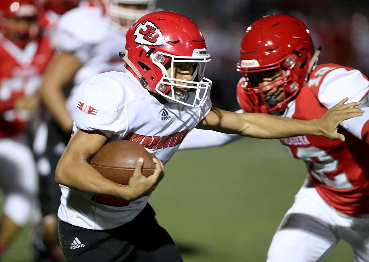 Photo Gallery: Burroughs High School football vs. Pasadena High