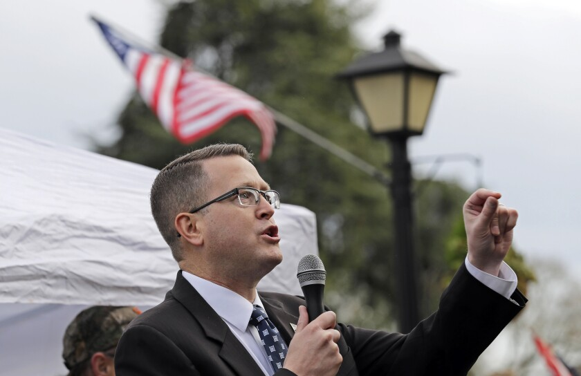 Washington state Rep. Matt Shea engaged in 'domestic terrorism,' report says