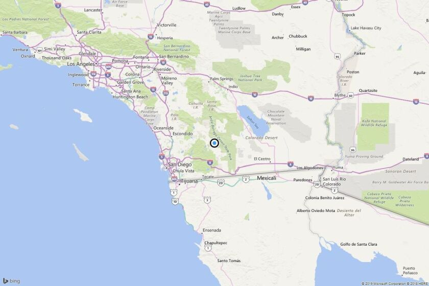 Earthquake: 3.0 quake strikes near Scissors Crossing, Calif.