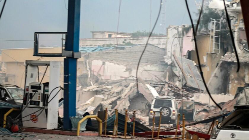 Somalia hotel attack