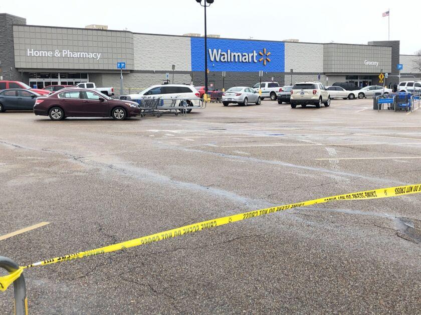 Walmart Shooting Arkansas