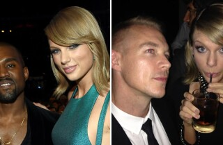 Taylor Swift quashes beef with Kanye West and Diplo at Grammys 2015
