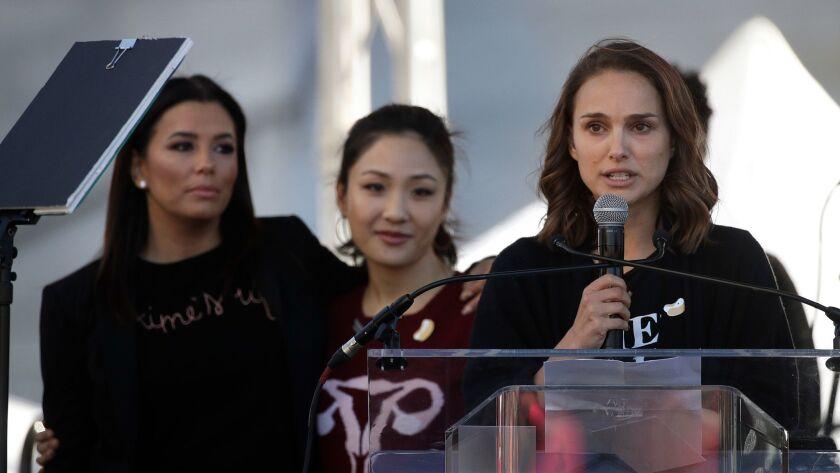 Natalie Portman, Eva Longoria, Constance Wu