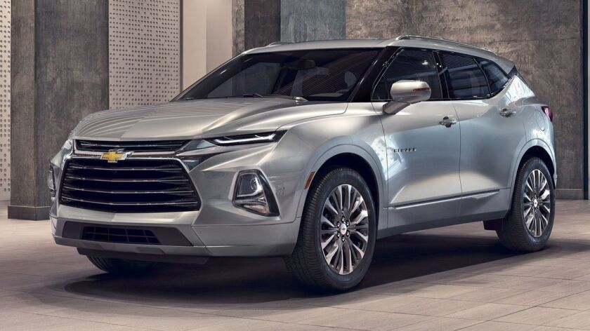 2019 Chevrolet Blazer Premier: An attention-grabbing midsize SUV offering style and versatility