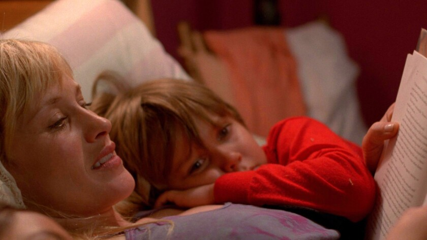 """Patricia Arquette and Ellar Coltrane in """"Boyhood."""""""