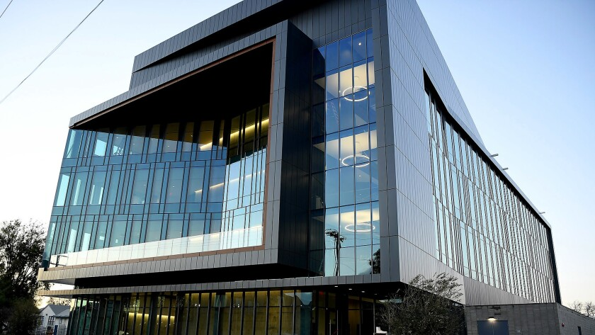 LA BioMed's new administrative, research and incubator building in Torrance.