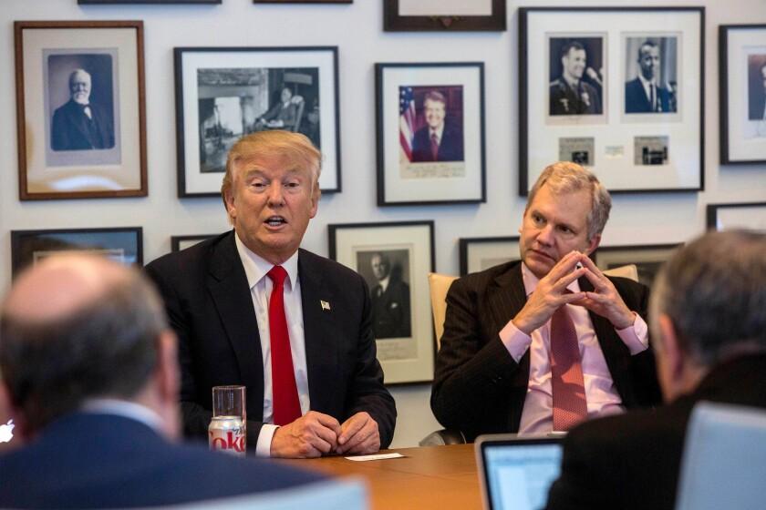 Trump at New York Times