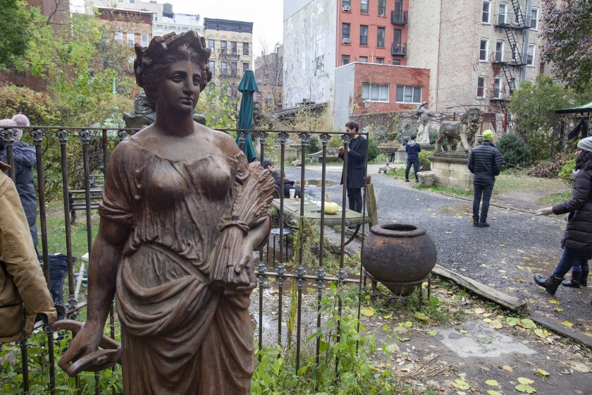 The Elizabeth Street Garden has become refuge for city dwellers. A group of advocates are suing the