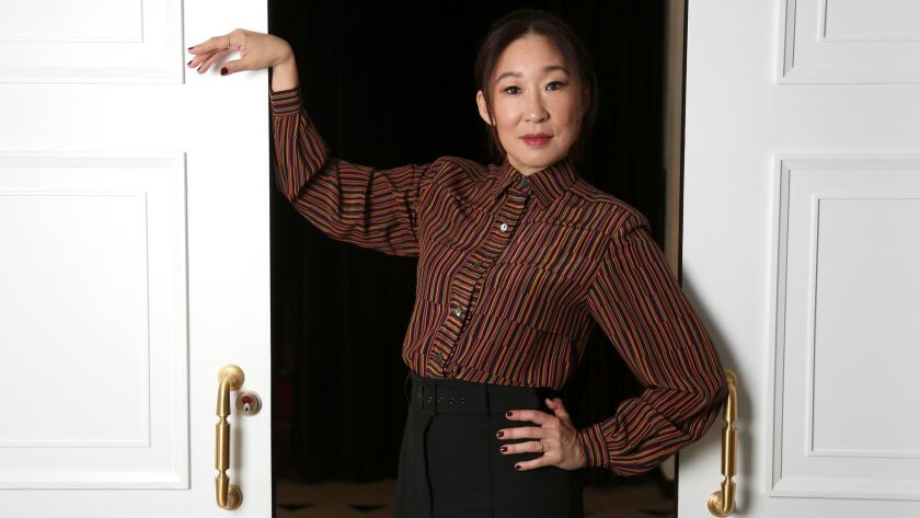 "Former ""Grey's Anatomy"" star Sandra Oh stars in BBC America's ""Killing Eve,"" about a bored British intelligence officer who matches wits with a charming, shrewd assassin."