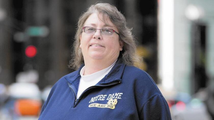 Math teacher Kimberly Hively is suing her former employer, Ivy Tech Community College, for allegedly discriminating against her for being a lesbian.