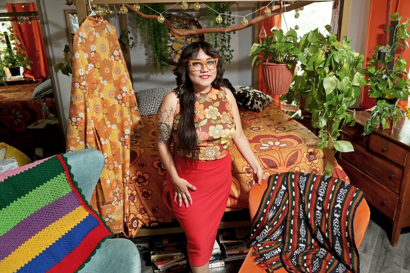 Santa Ana resident Gloria Lucas, 30, is the founder and CEO of Nalgona Positivity Pride.