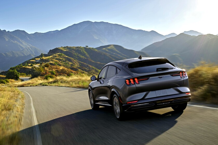 Ford unveils its Mustang Mach-E electric SUV
