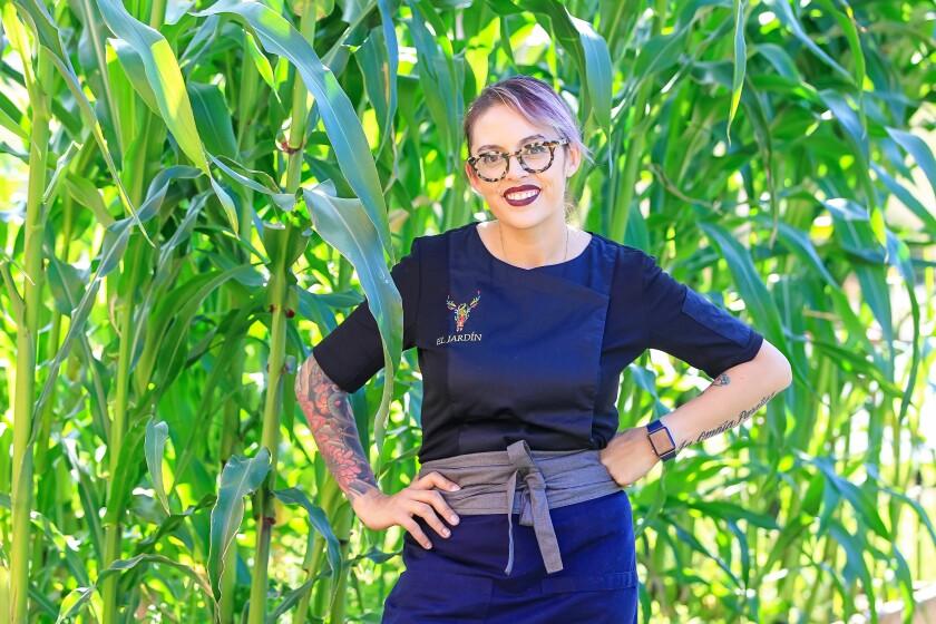 El Jardín chef Claudette Zepeda-Wilkins is having a moment, or three.