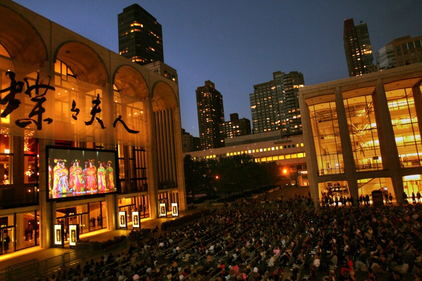 The Metropolitan Opera is canceling the remainder of its 2020-21 season.
