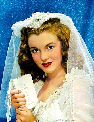 Bride With Prayer Book