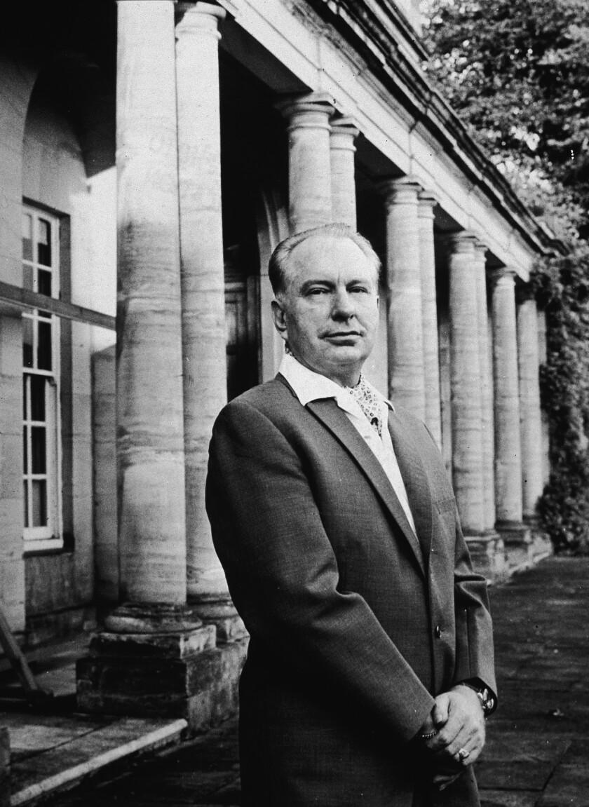 L. Ron Hubbard At His Home